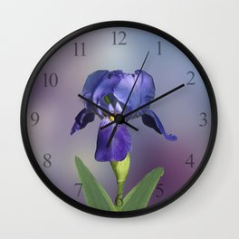 The Iris Wall Clock