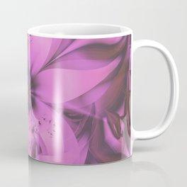 Pretty in Pink Fractal Flower Star-Shaped Petunias Coffee Mug