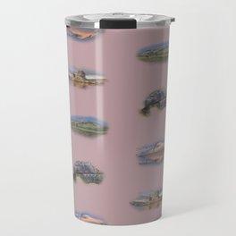 Highland Landmarks in pink Travel Mug