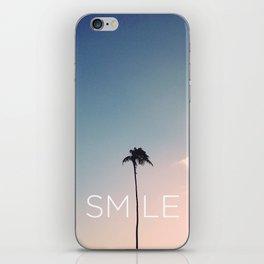 Palm tree Smile iPhone Skin