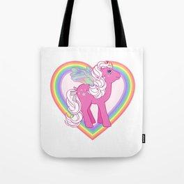 g1 my little pony Flutter Hollywood Tote Bag
