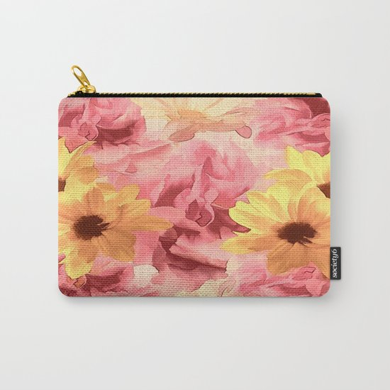 Summer Day Floral  Carry-All Pouch