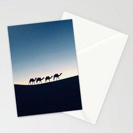 Desert Night Stationery Cards