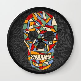 Shattered Daydream Wall Clock