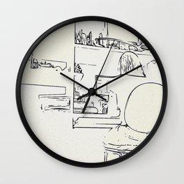 Workroom details Wall Clock