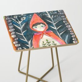 Little Red Side Table