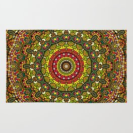 Persian kaleidoscopic Mandala G510 Rug