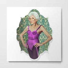 Golden Girls- Sexy Sophia Petrillo Metal Print