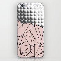 Ab Lines 45 Dogwood iPhone & iPod Skin