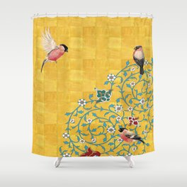Persian Illustration Shower Curtain