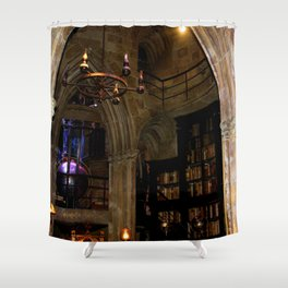 Wizard´s Office Shower Curtain