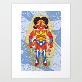 Wonderbot Art Print