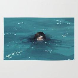 The Ocean Loved Her Rug