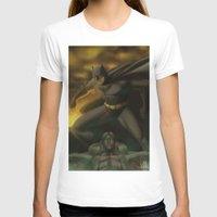 gotham T-shirts featuring Gotham Nights  by Jonathan Snowden