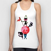 invader zim Tank Tops featuring Invader Zim by Toyosato
