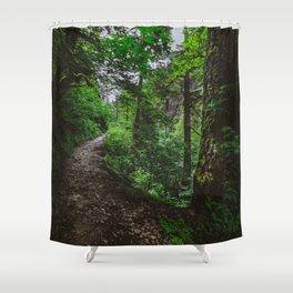 Trailblazing Shower Curtain