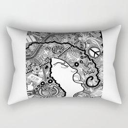 Soul Singer Rectangular Pillow