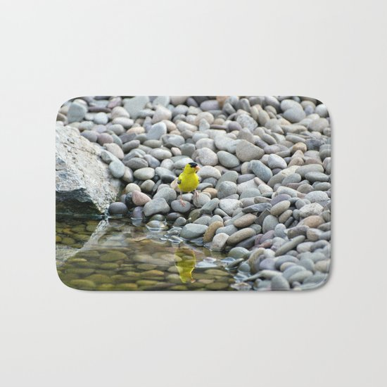 Golden Reflections Bath Mat