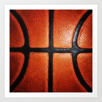 basketball Art Prints featuring Basketball by alifart
