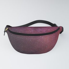Pink Star Galaxy Fanny Pack