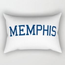 Memphis Sports College Font Rectangular Pillow
