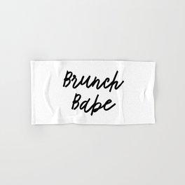 brunch babe Hand & Bath Towel