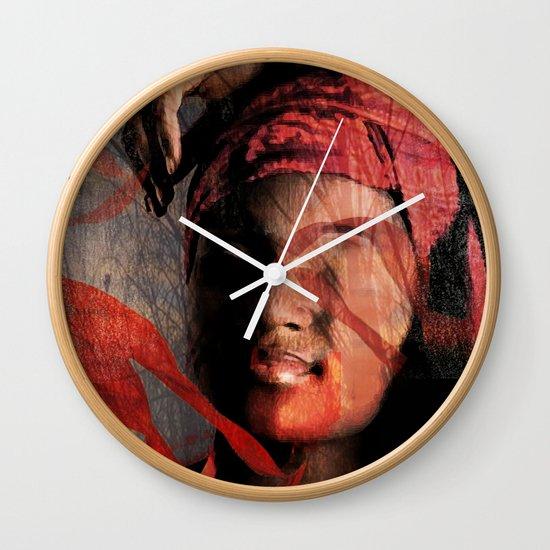 mental repose Wall Clock