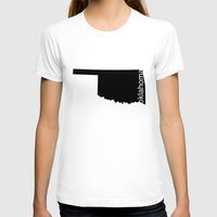 oklahoma T-shirts featuring Oklahoma by Isabel Moreno-Garcia
