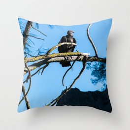 Back from the Brink (California Condor) Throw Pillow