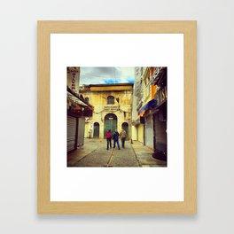 Grand Bazaar Gangsters Framed Art Print