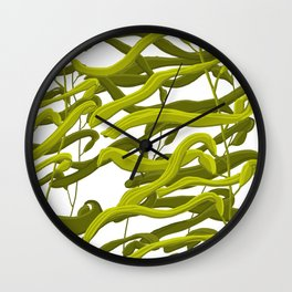 Kelp Forest (white) Wall Clock