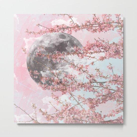 Spring Moon Metal Print