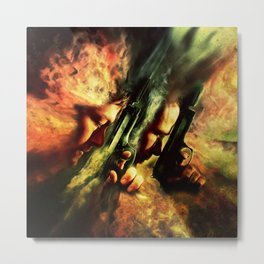 The Sandstorm Saints Metal Print