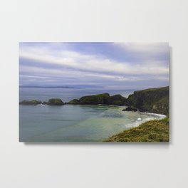 Irish Ocean Metal Print