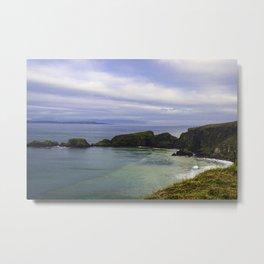 Irish Ocean Metal Print