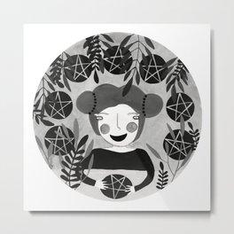 Ocho de oros Metal Print