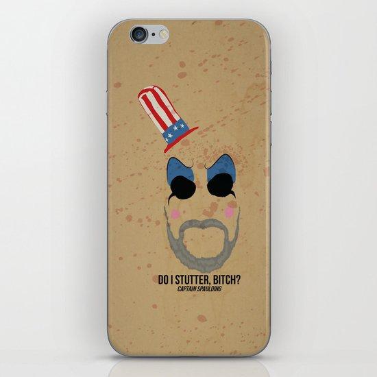 Captain Spaulding iPhone Skin