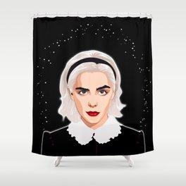 Sabrina Spellman Shower Curtain