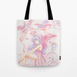 Sailor Mars Rei Hino Angels Tote Bag