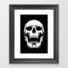 Grim Geometry Framed Art Print