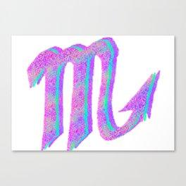 scorpio astrological symbol Canvas Print