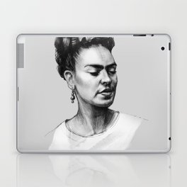Portrait of Frida Kahlo Laptop & iPad Skin