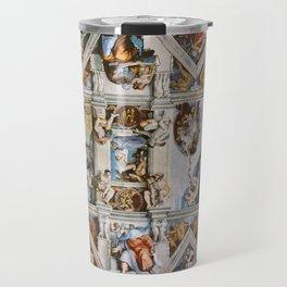 Sistine Chapel Ceiling Michelangelo Travel Mug