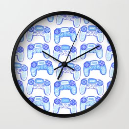 Ornament with joystick  Wall Clock