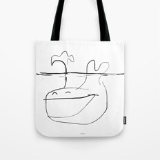 Happy Whale Tote Bag