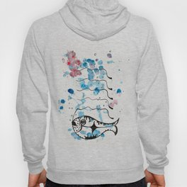 LIKE A FISH IN THE WATER Hoody