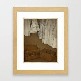 Once Framed Art Print