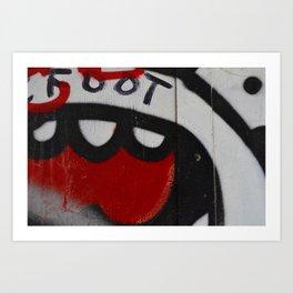 Toofs Art Print