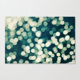 Under a Microscope Canvas Print