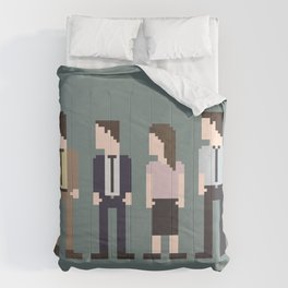 The Office 8-Bit Comforters